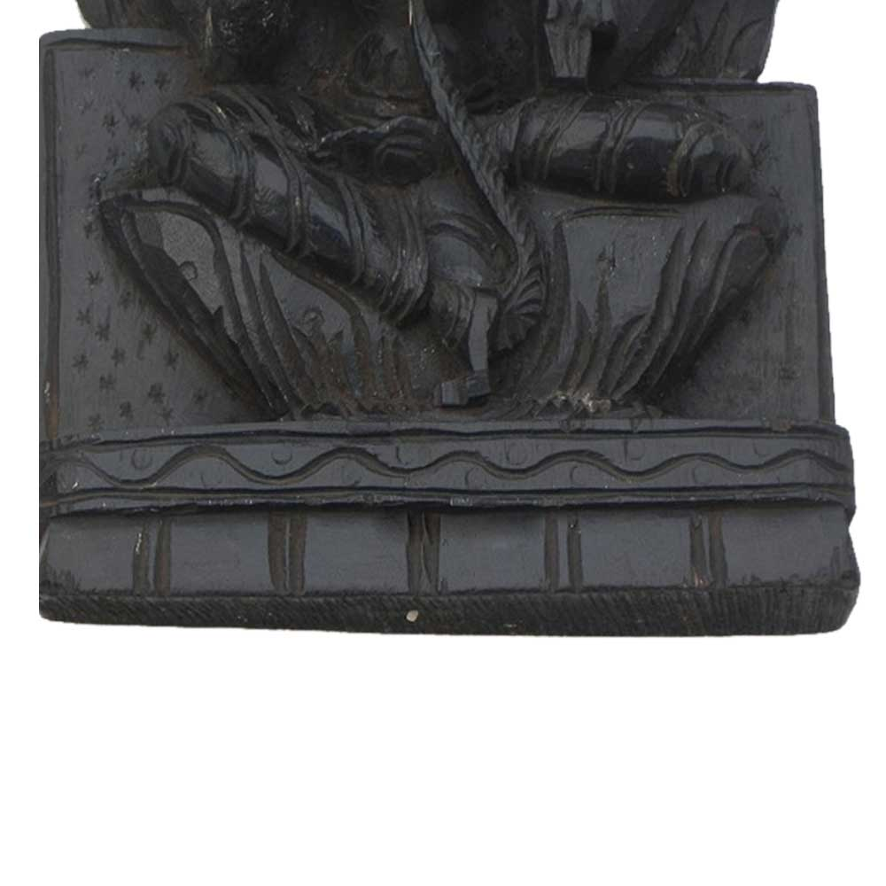 Wooden Lakshmi Ji Statue-02