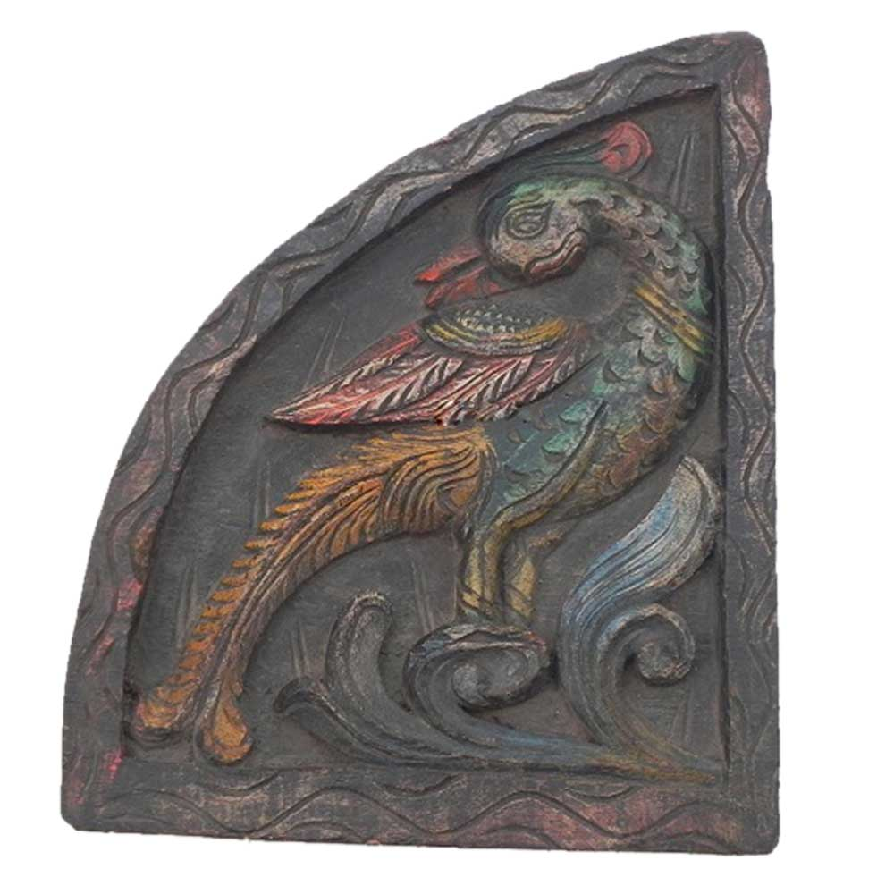 Peahen Wall Hanging-01