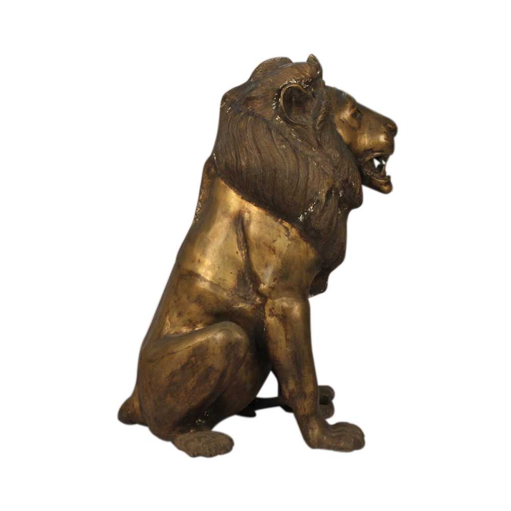 Bronze Lion (Ht-34 Inches)