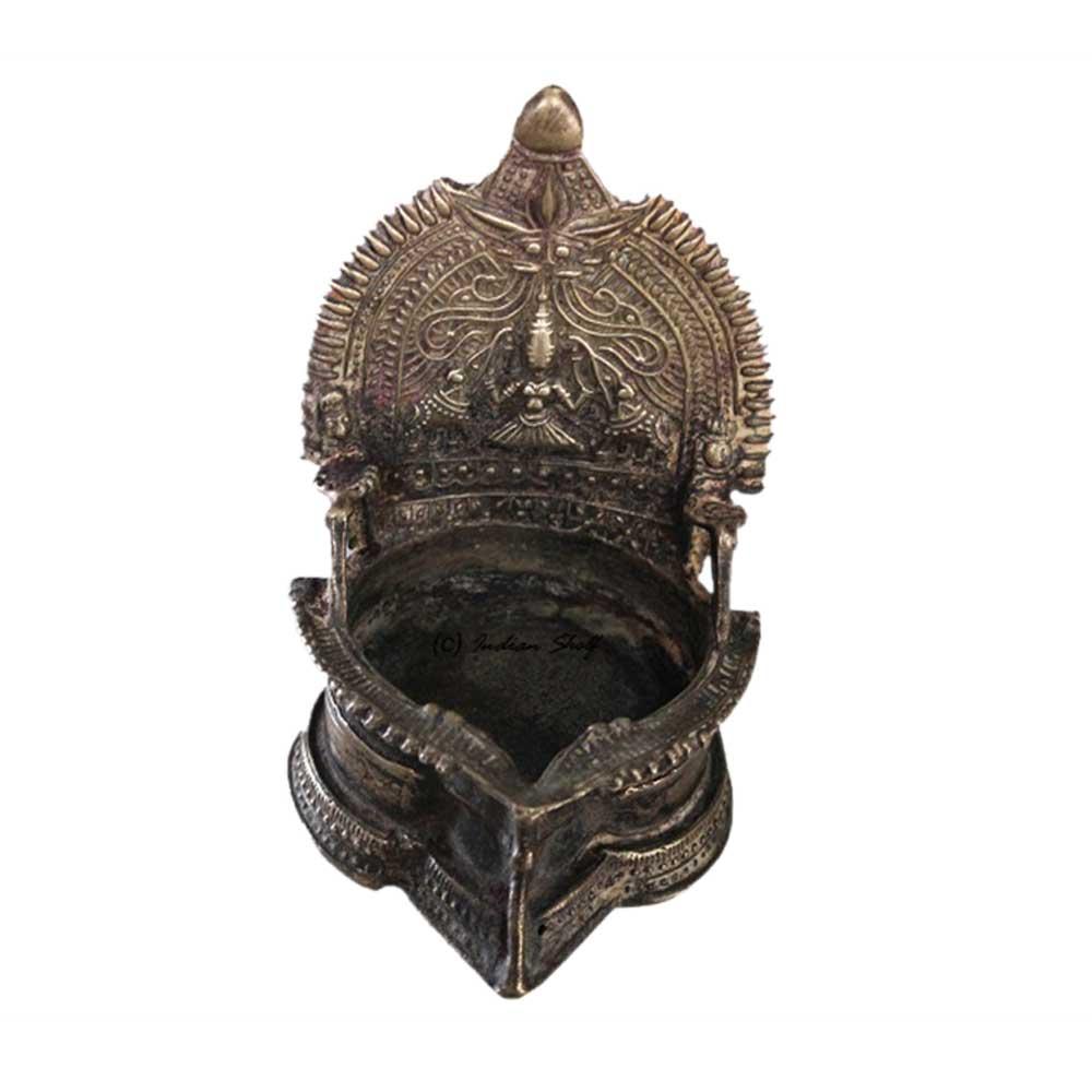 Maha Lakshmi Oil Lamp (Ht-5.75 Inches)