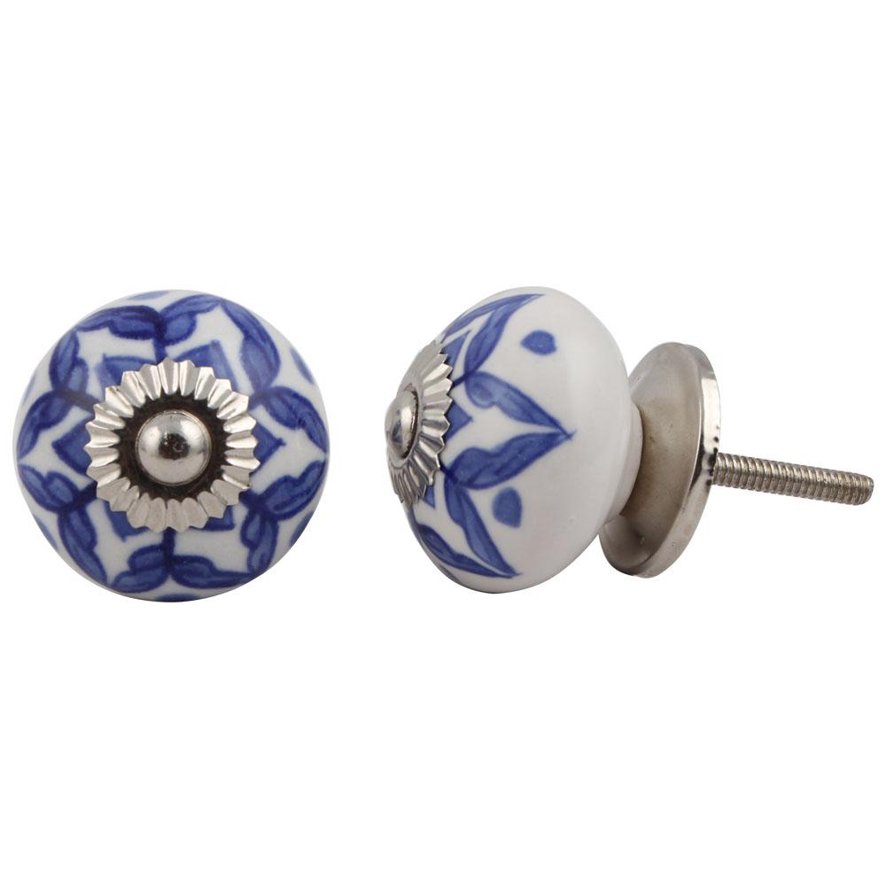 Blue Wheel Knob
