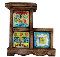Spice Box-610 Masala Rack Gift Item