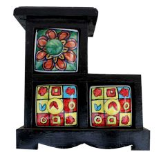Spice Box-616 Masala Rack Gift Item