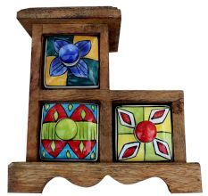 Spice Box-619 Masala Rack Gift Item