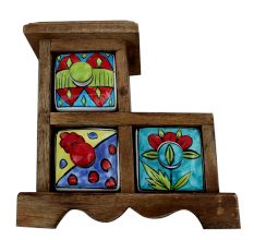 Spice Box-620 Masala Rack Gift Item