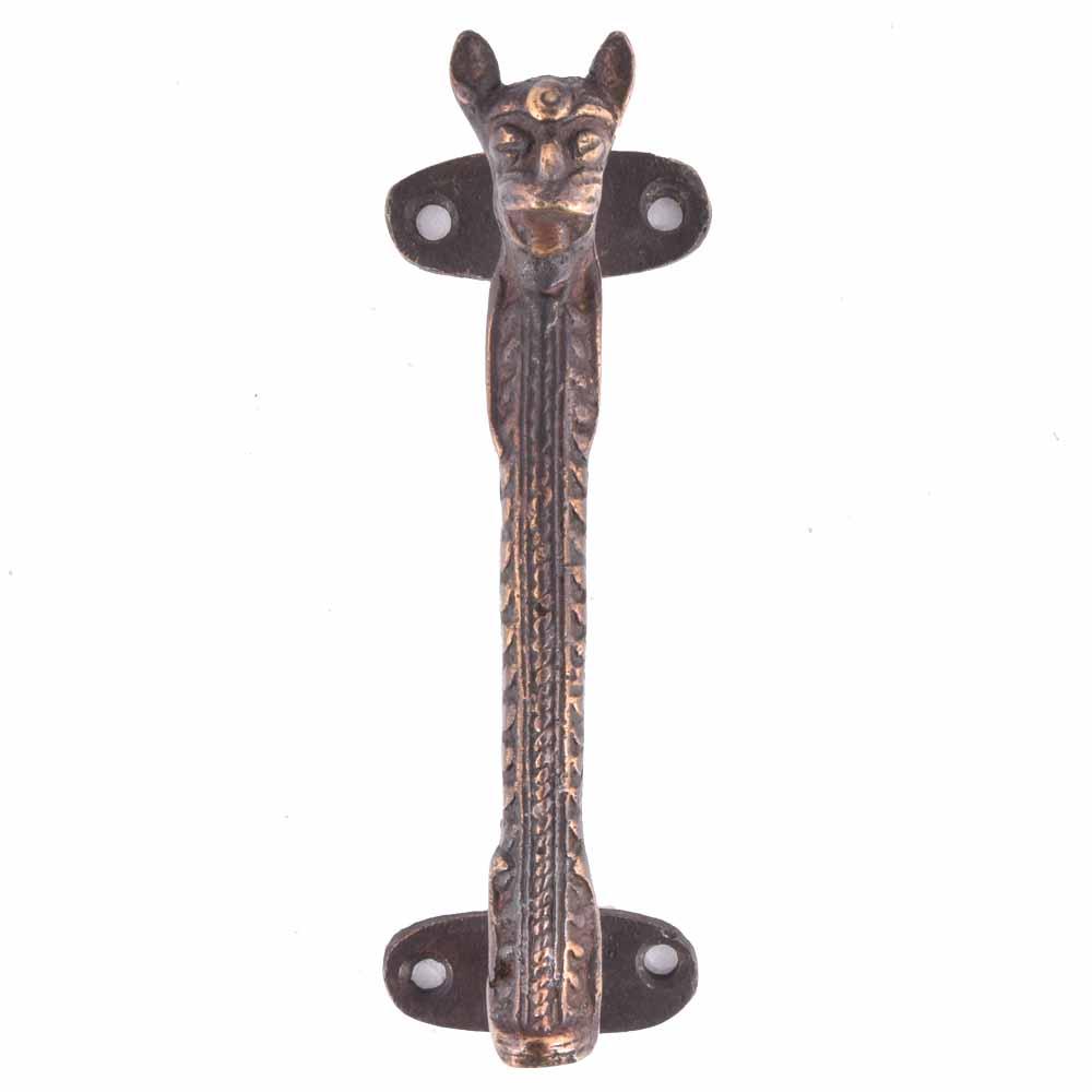 Caste Bronze Tiger Door Handle