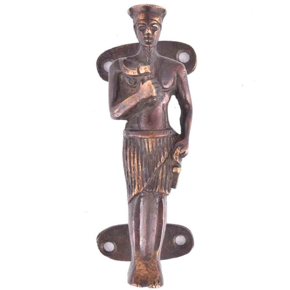 Tribal King Bronze Door or Cupboard Handle