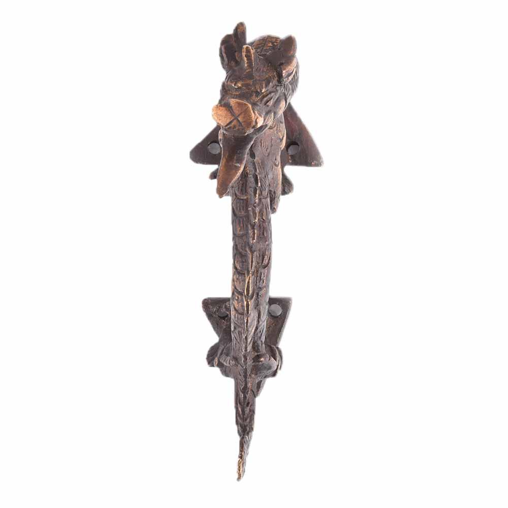 Bronze Chinese Dragon Cute Door Handle