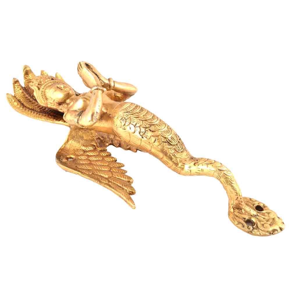 Golden Serpent Naga Cabinet Pulls or Door Handles
