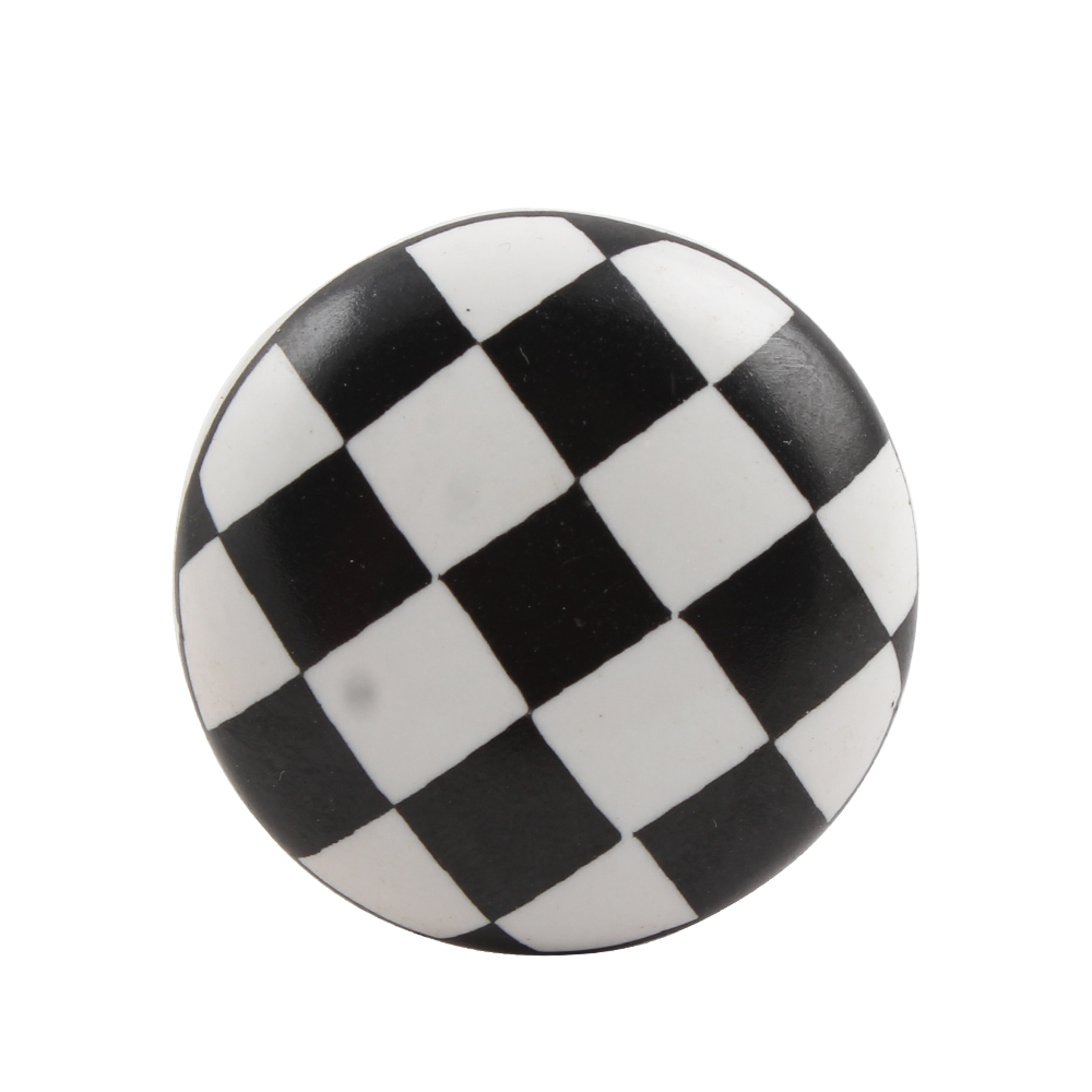 Chess Flat Ceramic Wine Stopper