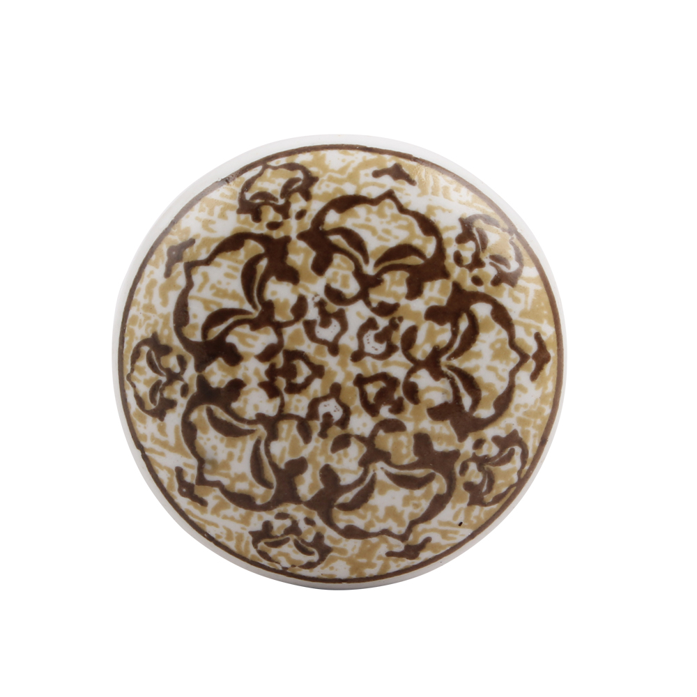 Floral Pattern Ceramic Wine Stopper