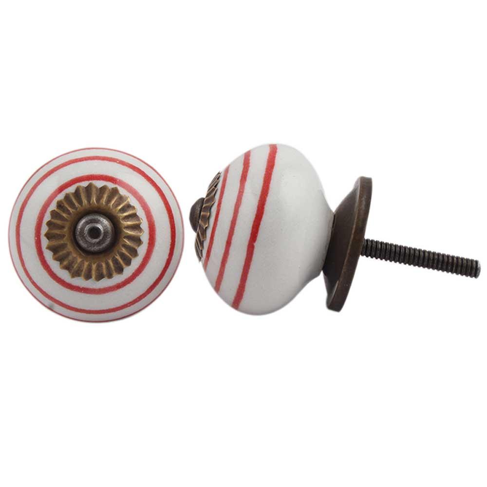 White Red Knob