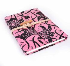 Pink & Black Designer Diaries/ Notebook