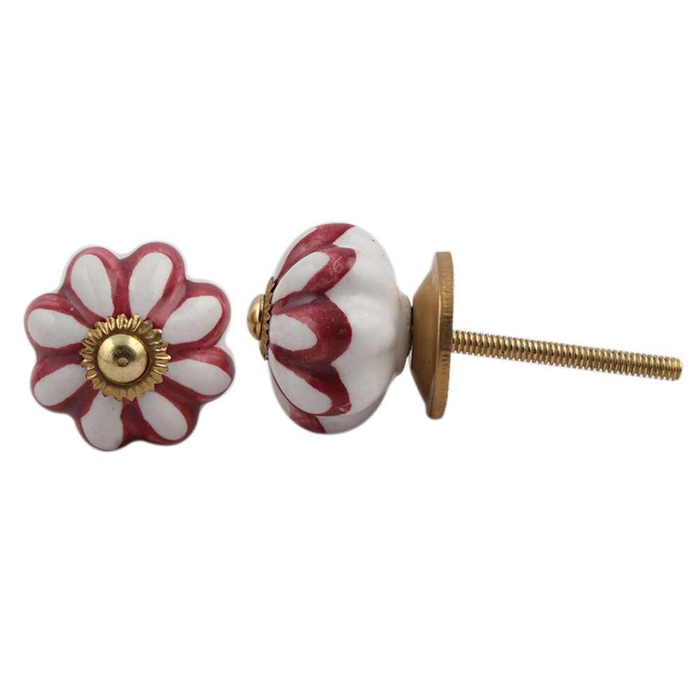 Cherry Wheel Medium Knob