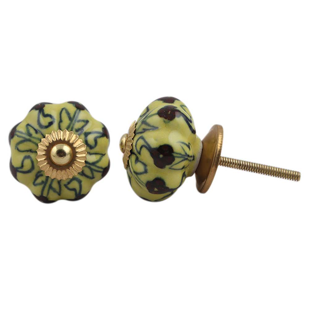 Yellow Green Melon Knob