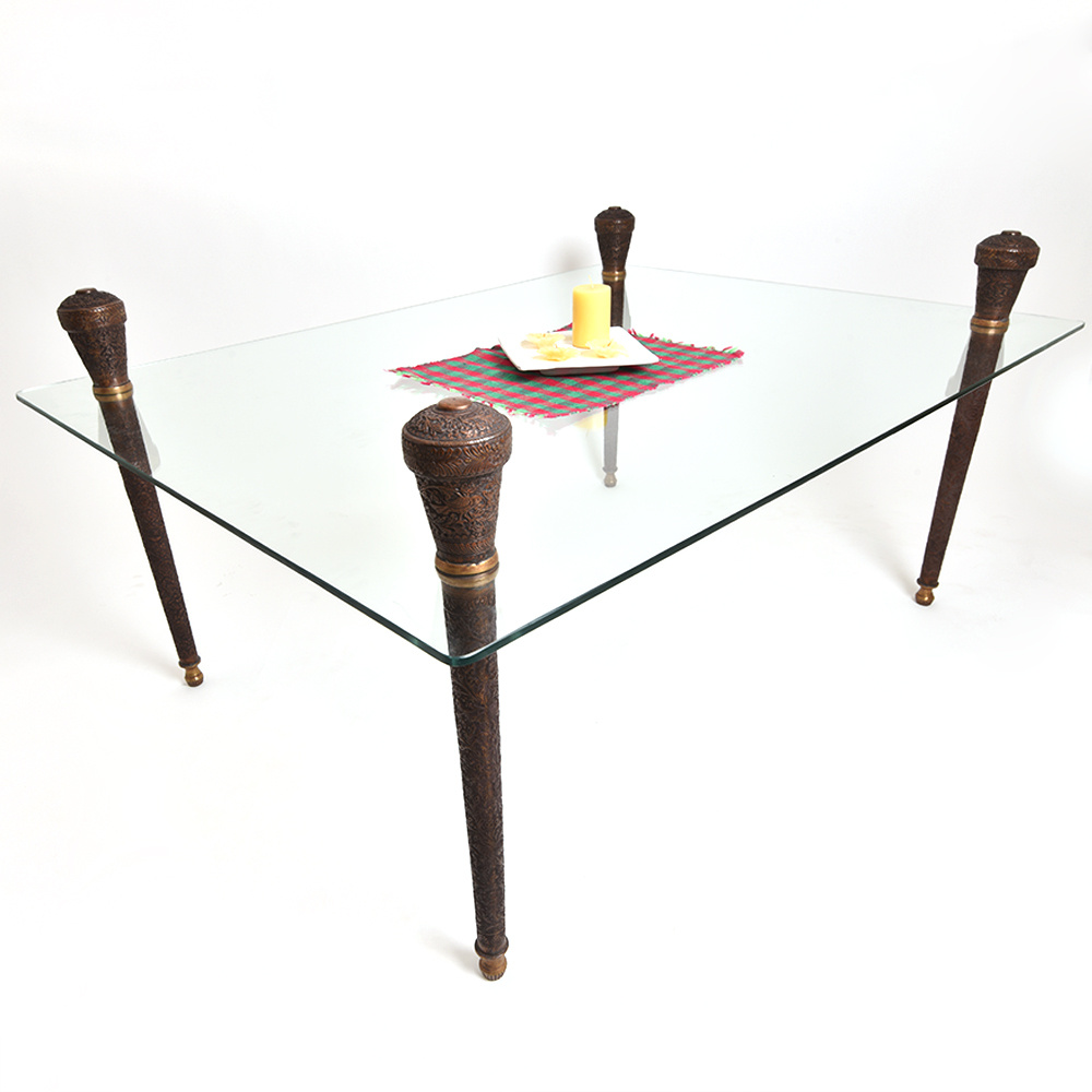 Table legs - Vintage Copper Legs in Traditional Design.
