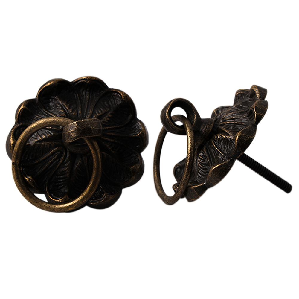 Flower Metal Drawer Knobs