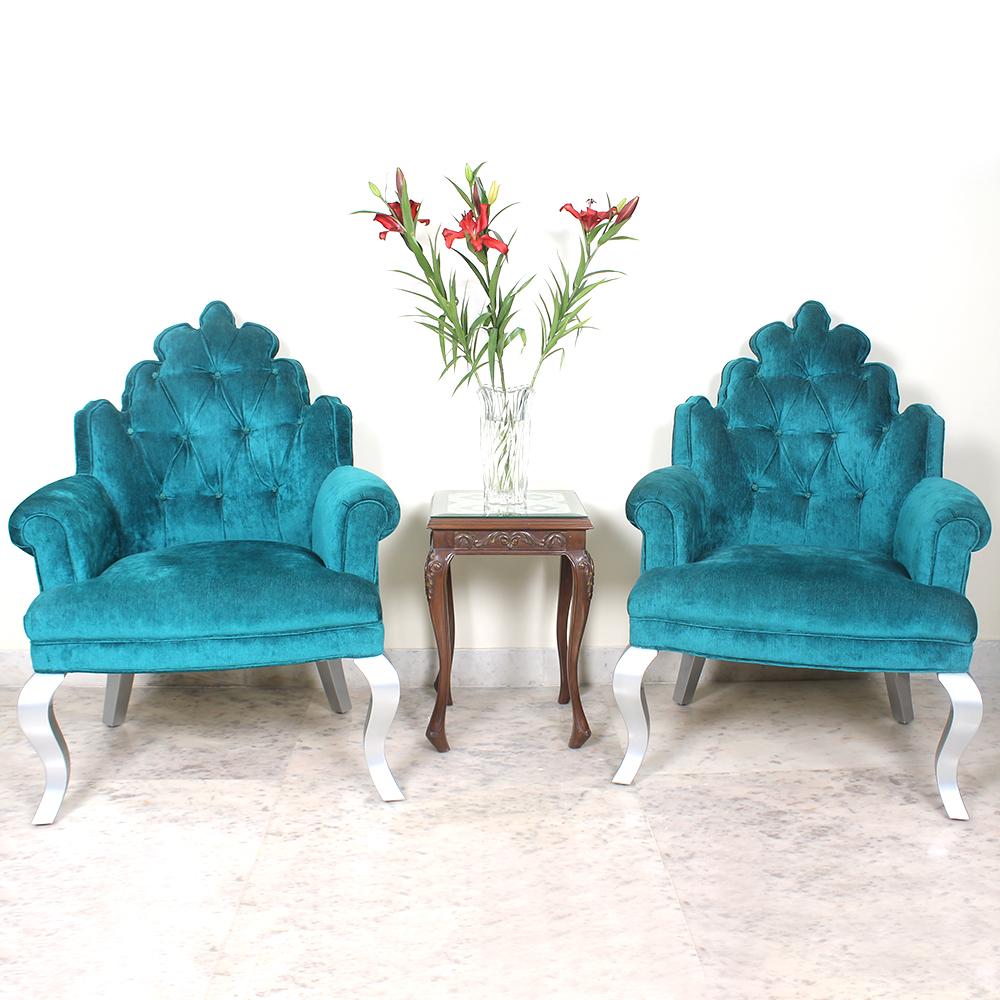 Blue Ricco Chairs