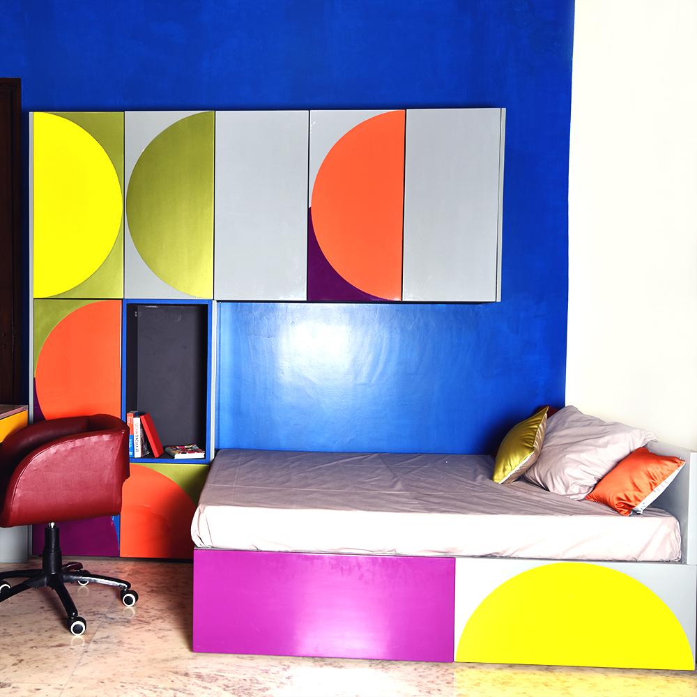 Bed Desk Cabinet Giocoso