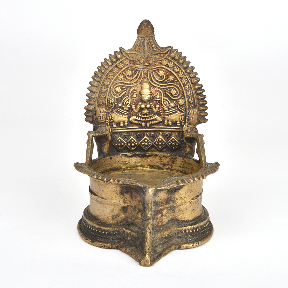 Laxmi Oil Lamp with Tealight Candles