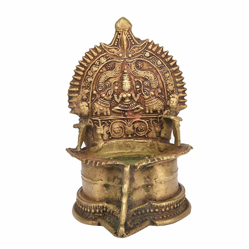 Goddess Sri Lakshmi Oil Lamp