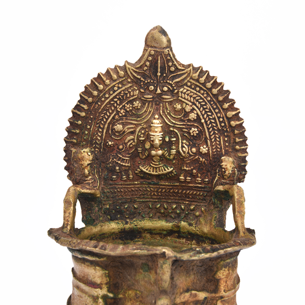 Traditional Kerala Bronze Deepak