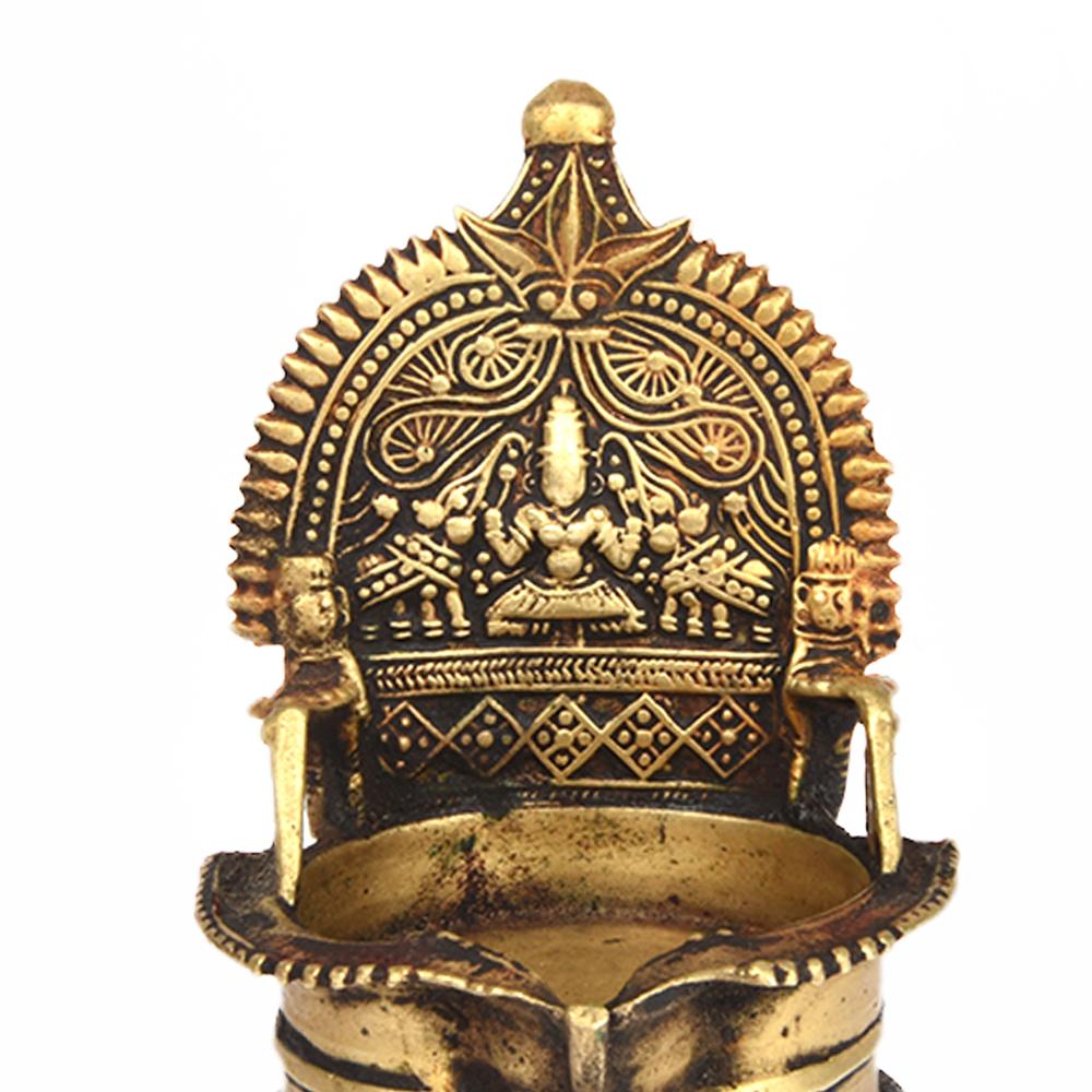 Lakshmi Villakku Brass Lamp