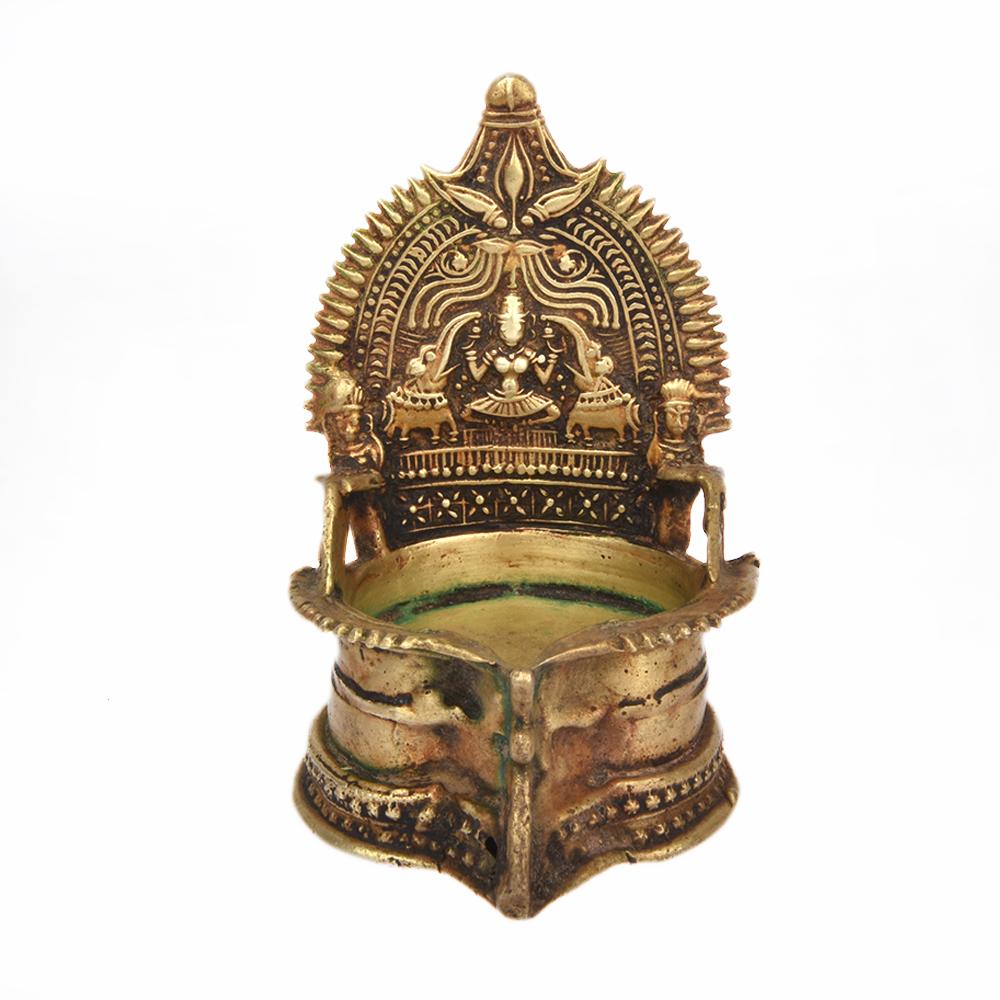 Traditional Bronze Small Pooja Lamp