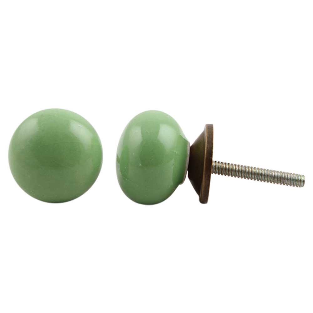 Pea Green Knob Small