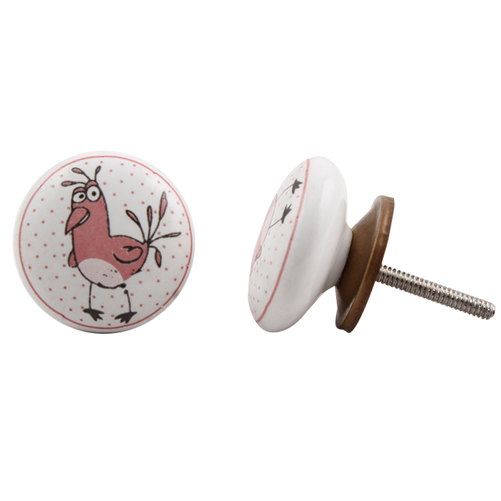 Cock Ceramic Knob