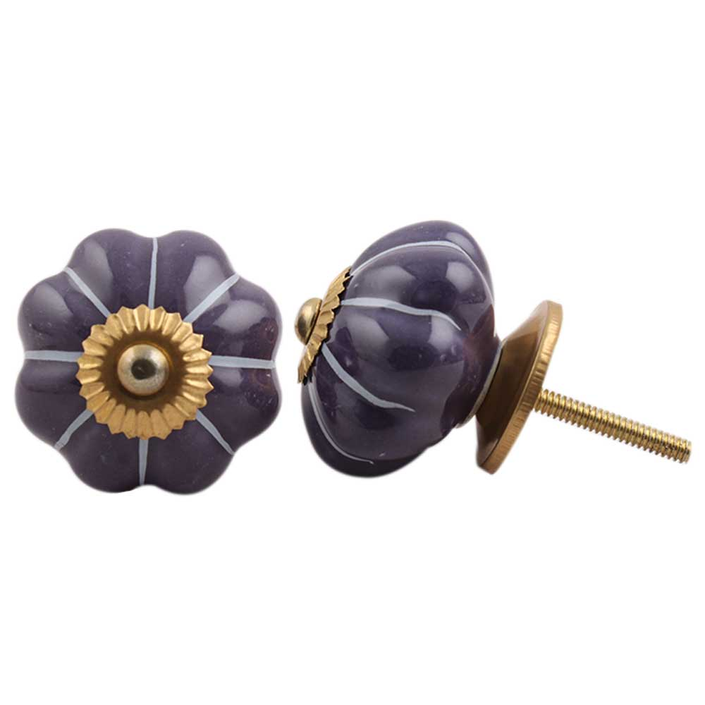 Purple Melon Knob