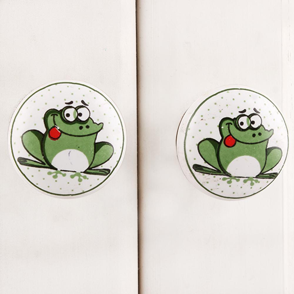 Frog Ceramic Knob