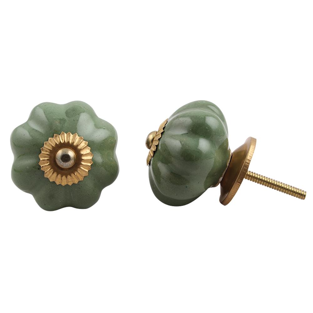 Olive Melon Knob