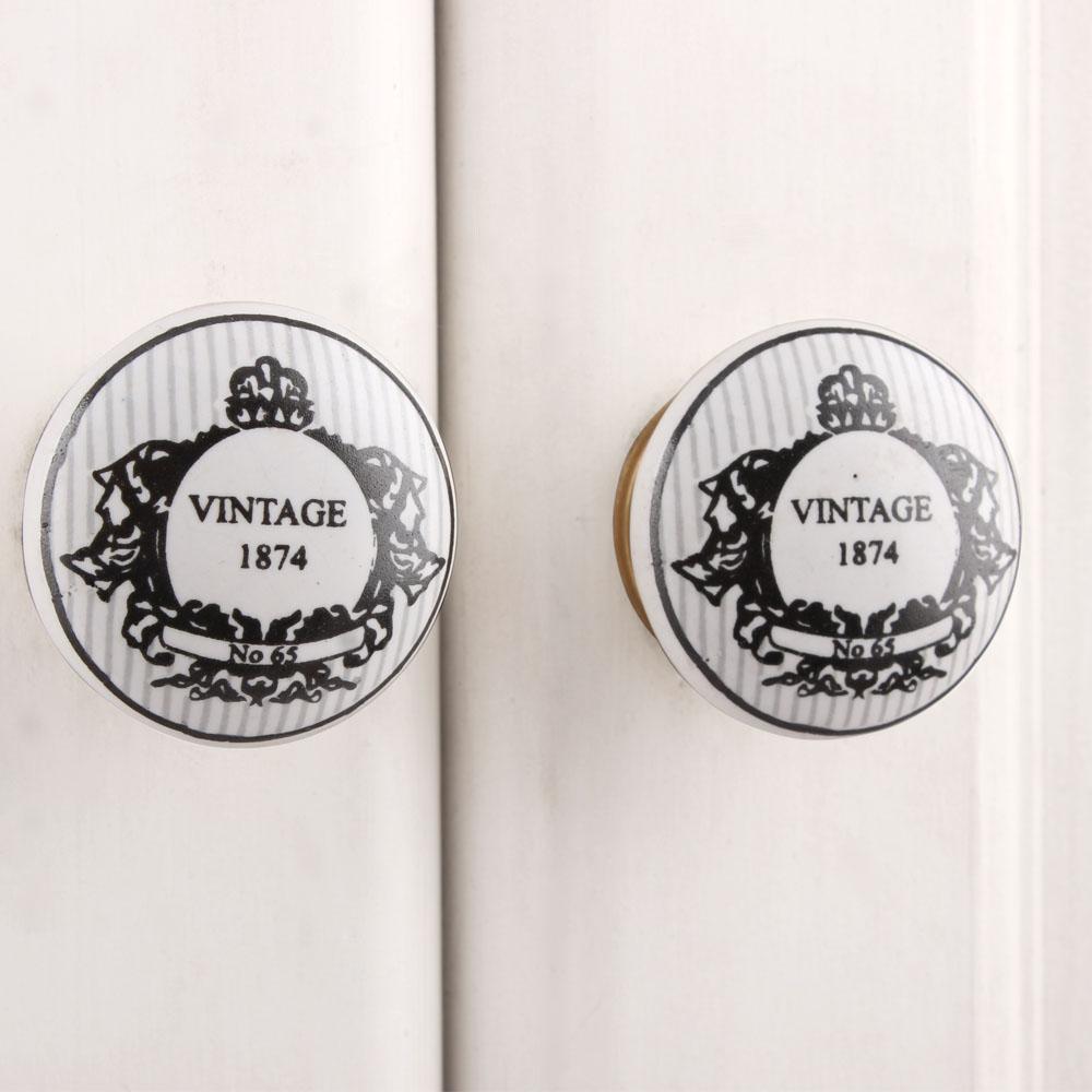 Vintage 1874 Flat Knob (1)