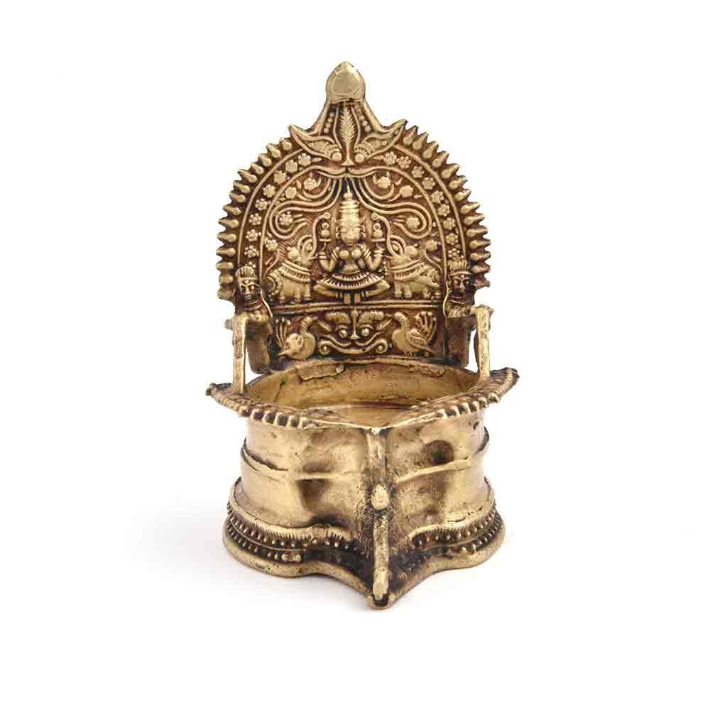 Bronze Ritual Laxmi Lamp