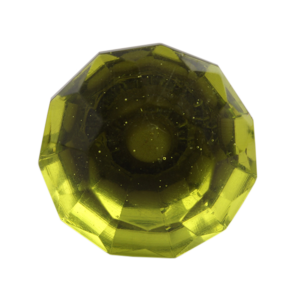 Olive Small Glass Wine Stopper