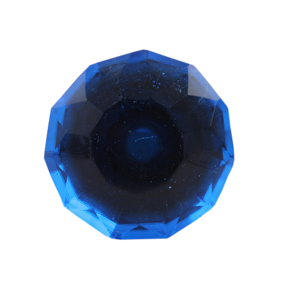 Cobalt Blue Diamond Wine Stopper