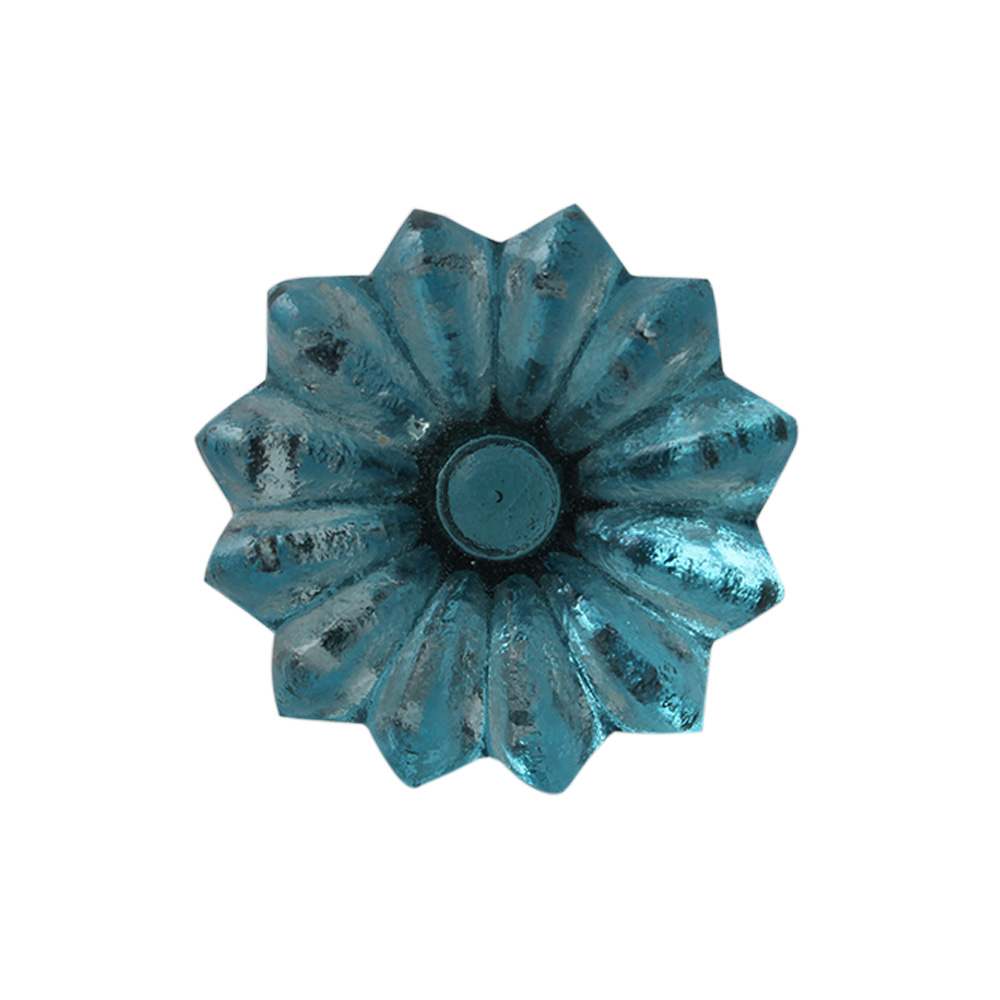 Water Sunflower Glass Wine Stopper