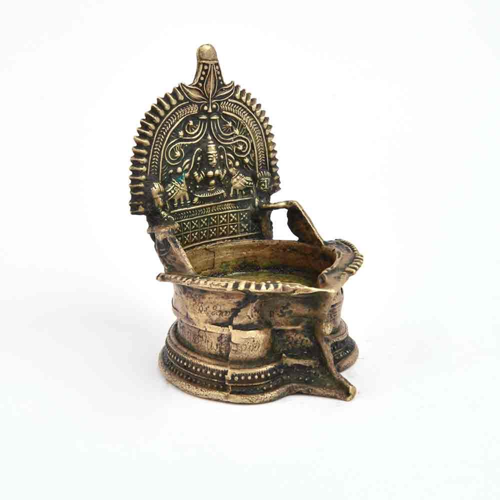 Laxmi Temple Oil Lamps