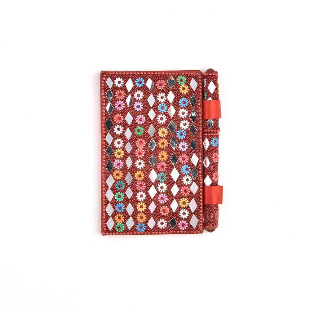 Handmade Designer Diary In Red
