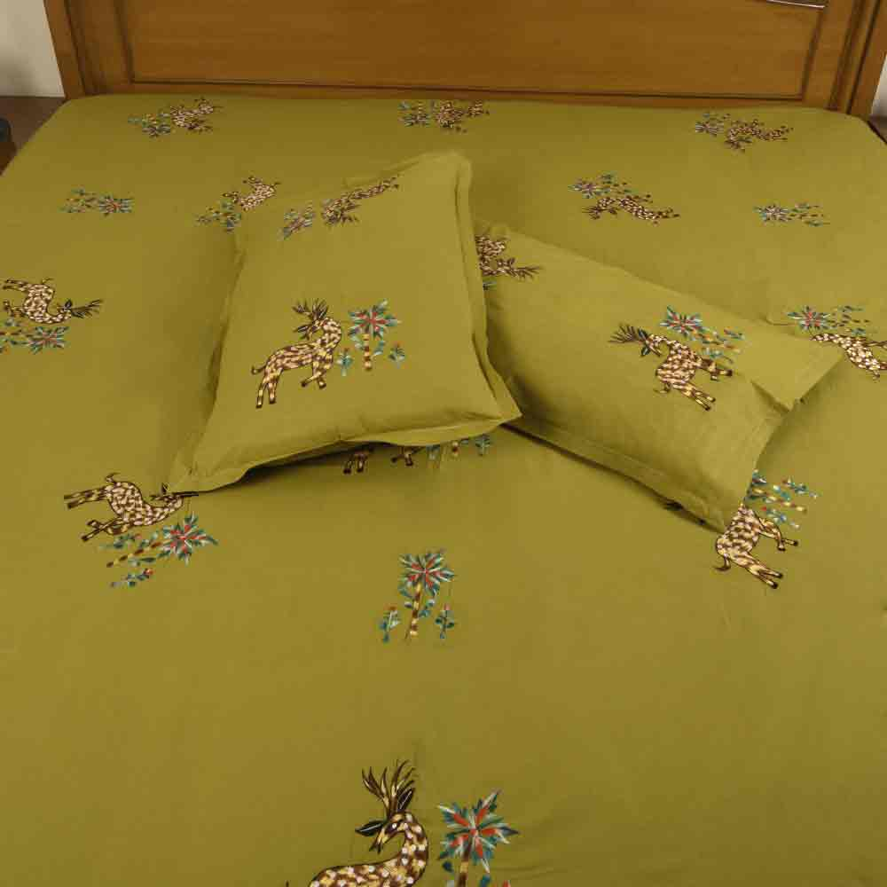 Genuine Cotton Designer Bedsheet