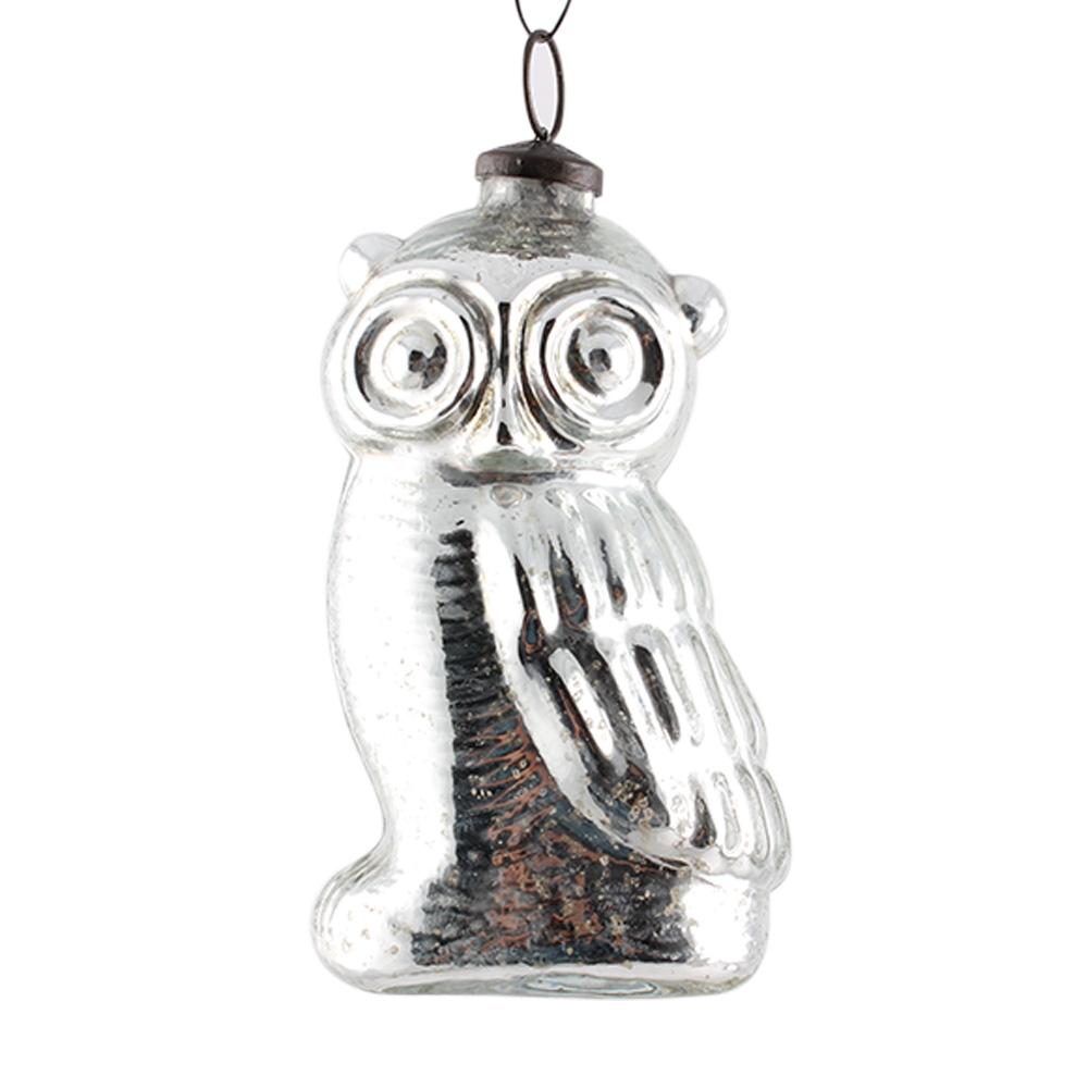 Antique Owl Shape Christmas Hanging Online