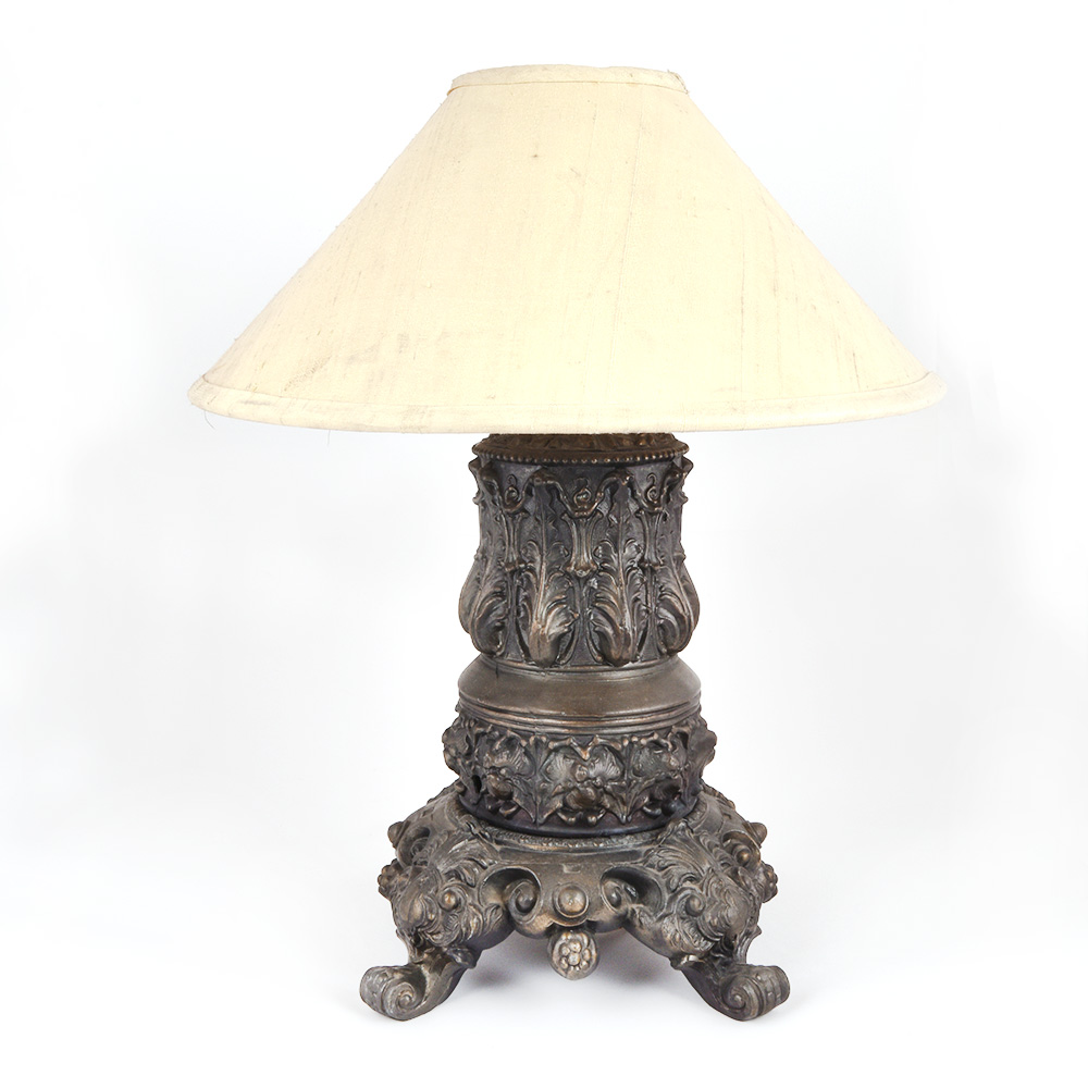 Vintage Large Robust Table Lamp