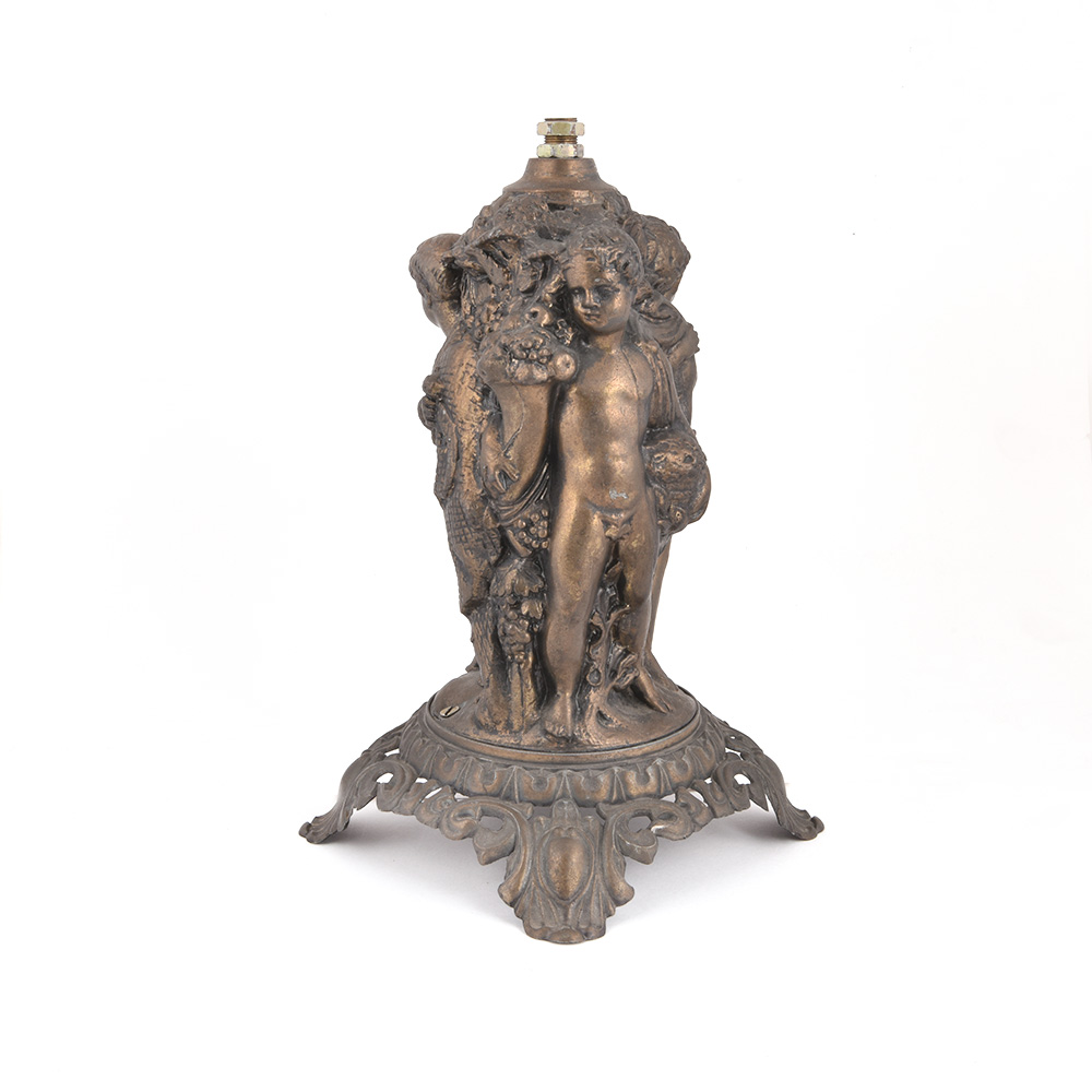 Three Cherub Table Lamp