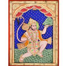 Embossed Sanjeevani Painting