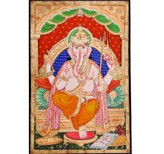 Trishul Ganesha Classic Painting
