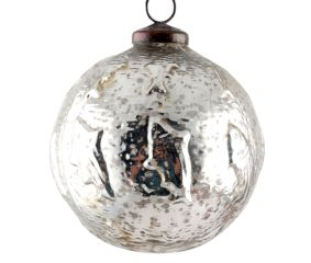 Fish Cut Round Antique Christmas Ornament Online
