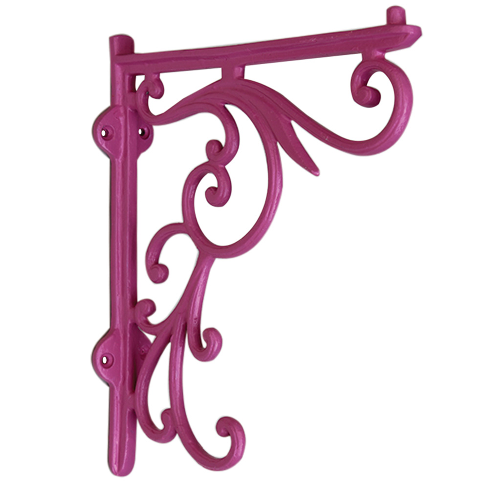 Dark Pink Shelves Brackets-20