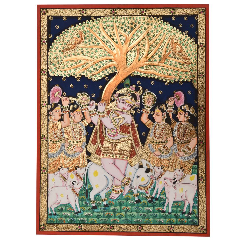 Krishna Playing Flute