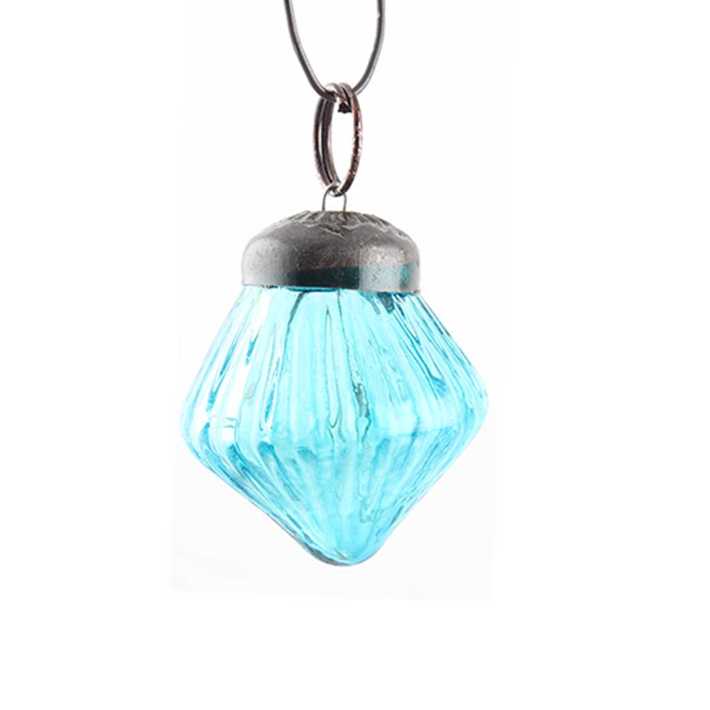 Top Turquoise Tiny Diamond Christmas Ornament Online